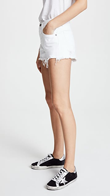AGOLDE Parker Loose Fit Cutoff Shorts