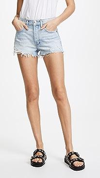 Parker Vintage Loose Fit Cutoff Shorts