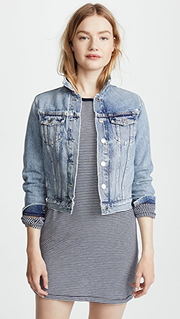 AGOLDE Reputation Shrunken Jean Jacket
