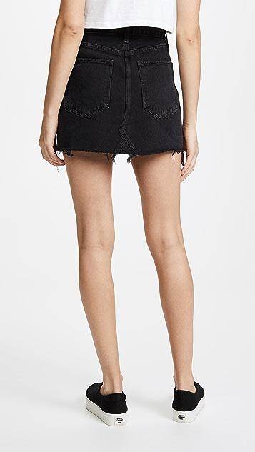 AGOLDE Quinn High Rise Miniskirt