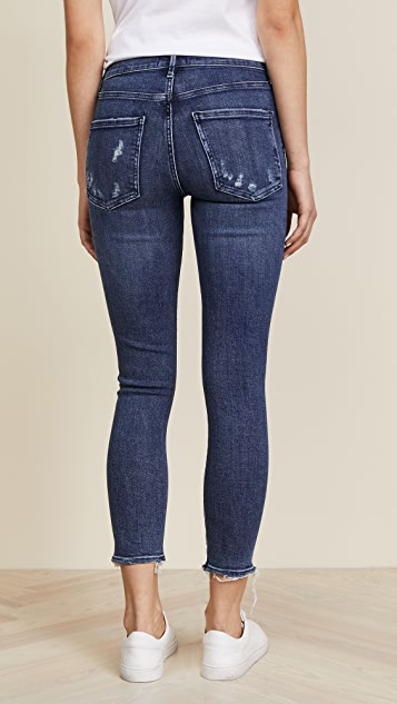 AGOLDE Sophie Cropped Skinny Jeans