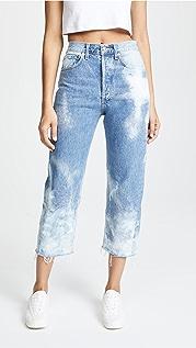 AGOLDE 90 年代复古元素超短牛仔裤