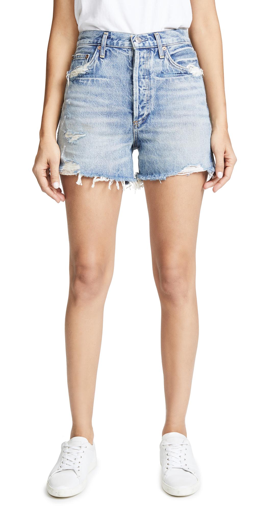 AGOLDE Dee Ultra High Rise Shorts