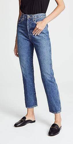 AGOLDE - Pinch Waist High Rise Kick Jeans