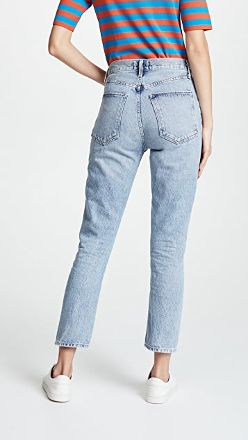 AGOLDE Riley High Rise Cropped Jeans