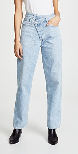 AGOLDE - Crisscross Jeans