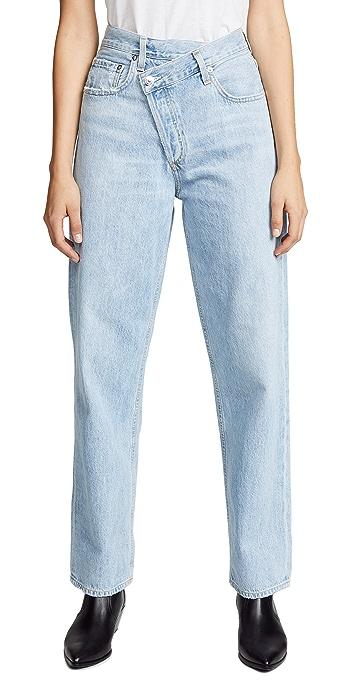 AGOLDE Crisscross Jeans - Suburbia