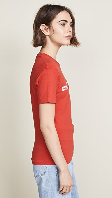 AGOLDE Stranger Danger Pocket Tee