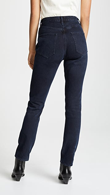 AGOLDE Remy High Rise Straight Jeans