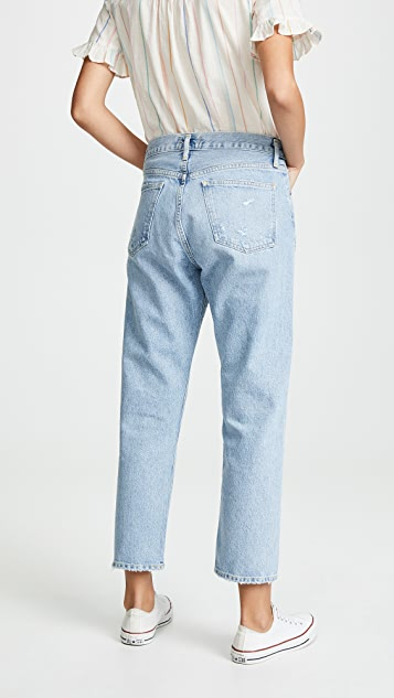 AGOLDE Свободные прямые джинсы Parker