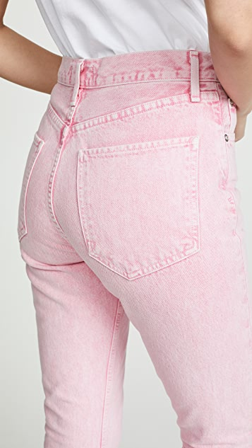 AGOLDE Hi Rise Riley Crop Jeans