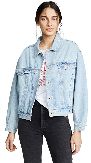 AGOLDE Charli Oversized Denim Jacket