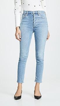 Hi Rise Nico Slim Fit Jeans