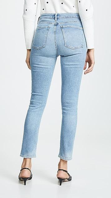 AGOLDE Узкие джинсы Nico с высокой посадкой
