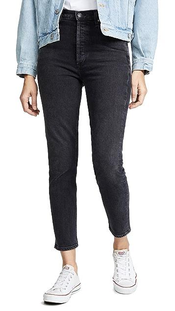 AGOLDE Hi Rise Nico Slim Fit Jeans