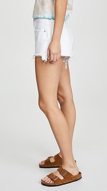 AGOLDE Cutoff Parker Shorts