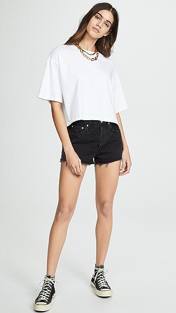 AGOLDE Vintage Cutoff Parker Shorts