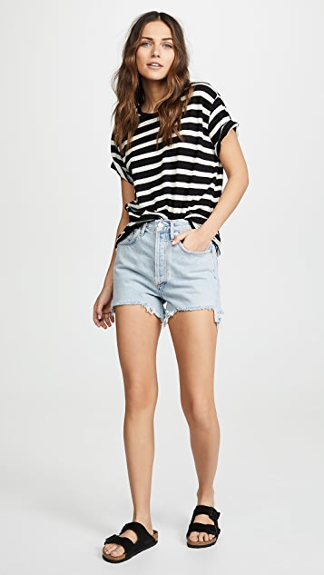 AGOLDE Ultra High Rise Dee Shorts