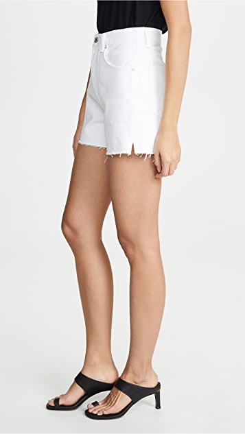 AGOLDE Ultra Hi Rise Close Fit Dee Shorts