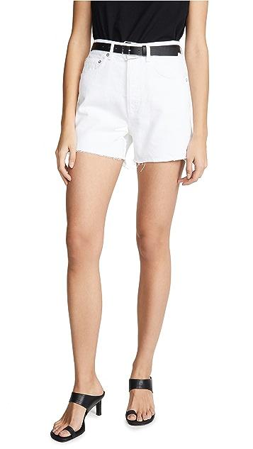 AGOLDE Ultra Hi Rise Close Fit Dee 短裤
