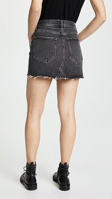 AGOLDE Quinn Miniskirt