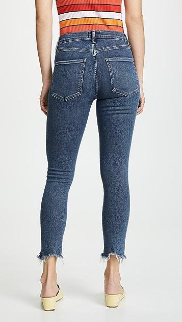AGOLDE Hi Rise Sophie Skinny Crop Jeans