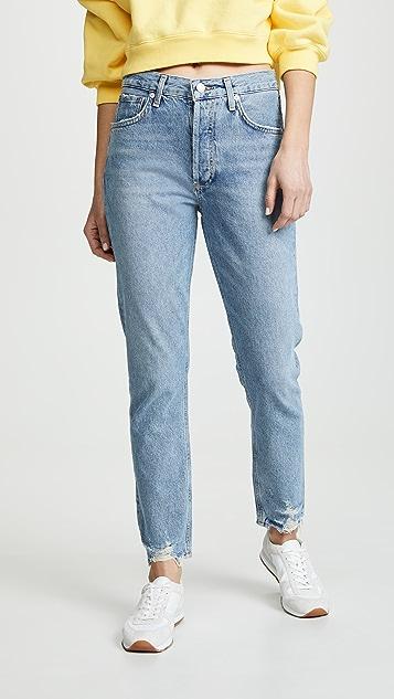 AGOLDE High Rise Jamie Classic Jeans - Origin