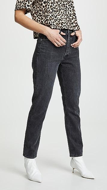 AGOLDE Hi Rise Jamie Classic Jeans - Tonic