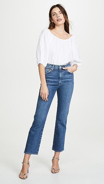 AGOLDE Удобные эластичные джинсы с зауженной талией