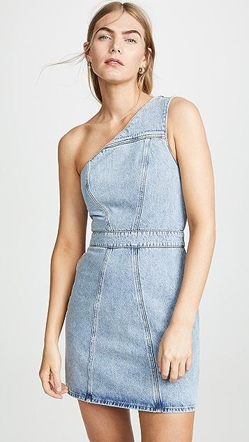 AGOLDE Платье с открытым плечом Annex