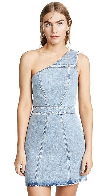 AGOLDE Annex One Shoulder Dress