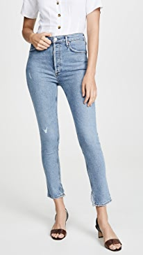 Nico High Rise Slim Jeans