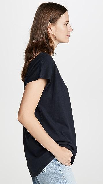 AGOLDE 无袖箱型 T 恤