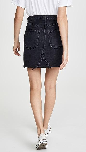 AGOLDE Ada Hi Rise Length Skirt