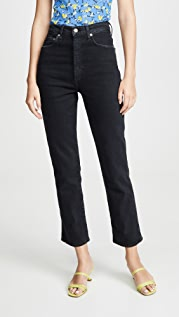 AGOLDE Pinch Waist High Rise Kick Jeans