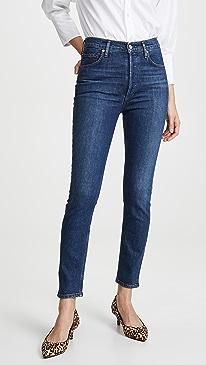 Nico High Rise Slim Jeans