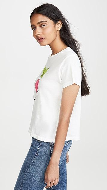AGOLDE You Look Radishing Baby T 恤