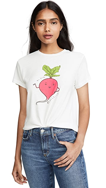 AGOLDE You Look Radishing Baby Tee