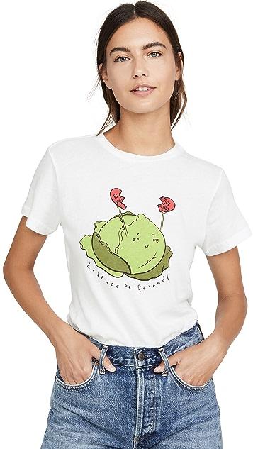 AGOLDE Lettuce Be Friends Baby T 恤
