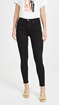 Sophie Mid Rise Ankle Jeans