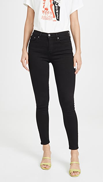 AGOLDE Sophie Mid Rise Ankle Jeans