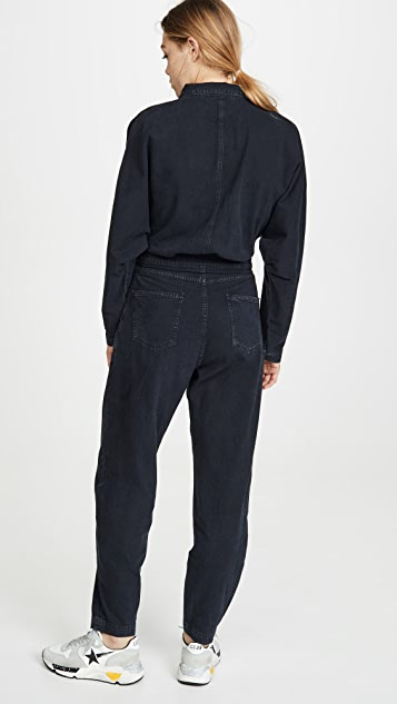 AGOLDE Ina High Collar Zip Jumpsuit