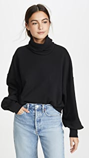 AGOLDE Balloon Sleeve Turtleneck Sweater
