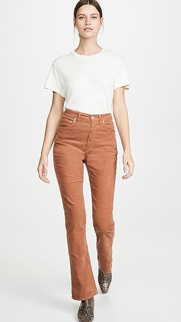 AGOLDE Vintage High Rise Flare Pants