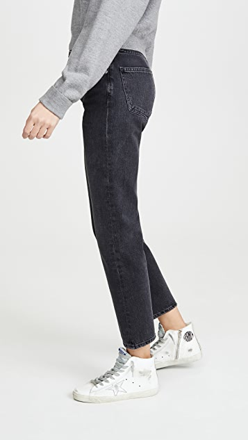 AGOLDE Ripley Mid Rise Straight Jeans