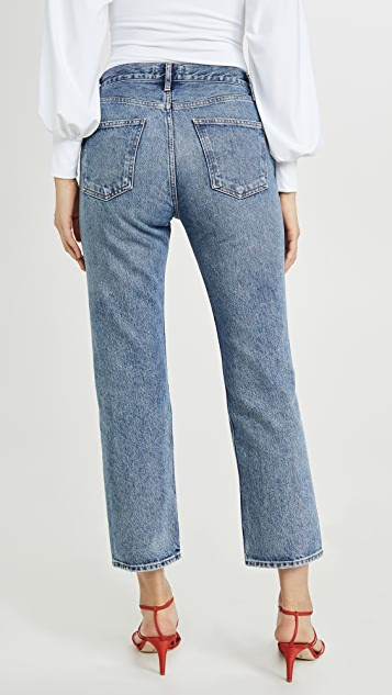 AGOLDE Ripley 中腰直脚牛仔裤