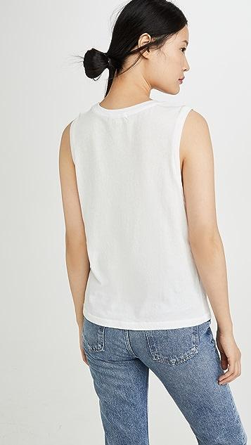 AGOLDE Ameenah 无袖 T 恤
