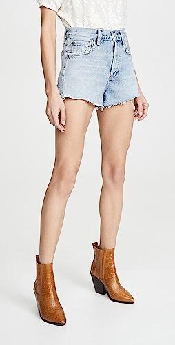 AGOLDE - Parker Vintage 超短裤