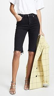 AGOLDE Carrie 长款修身短裤