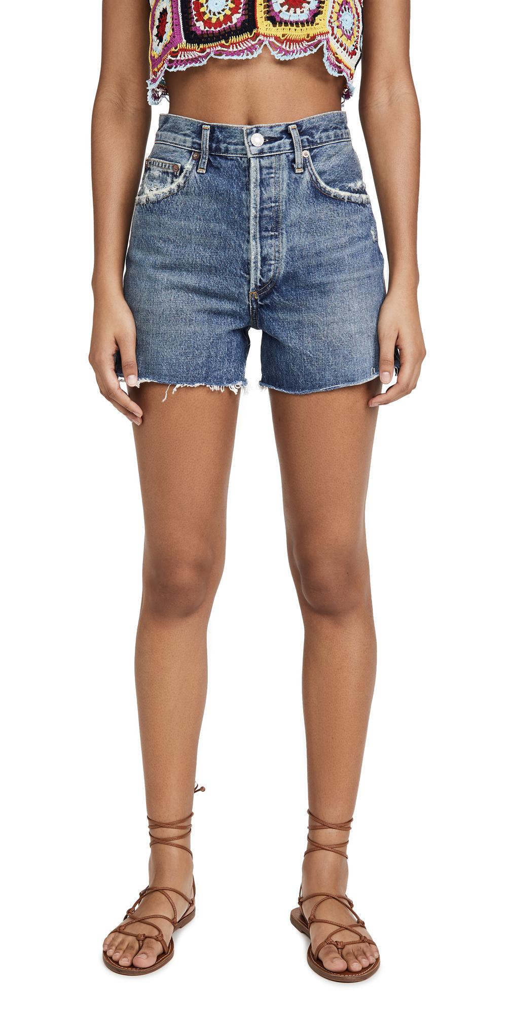 AGOLDE Dee Super Hi Rise Shorts